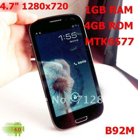 Instock jiayu g3 андроид 4.5 дюймов двухъядерный мобильный телефон mtk6577