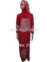 YA052  SALE elastic spandex polyester cotton Womens BLACK,wine,royalblue scarf sew on it 133cm-140cm  ARABIC WORDS MUSLIM ABAYA
