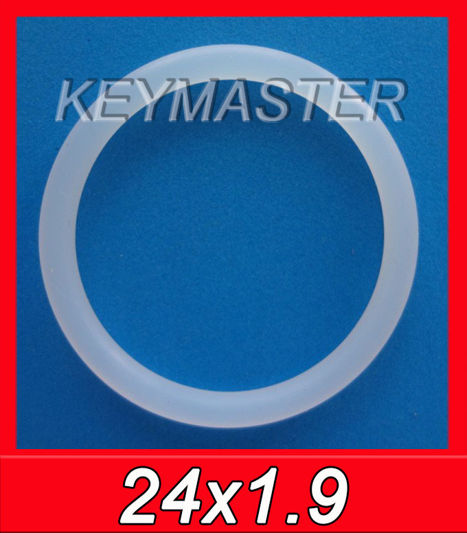 Translucent White Silicone O Ring Food Grade Kit Rubber O-ring Seal(China (Mainland))