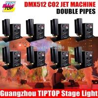 Hi-Quality 8pcs/lot 154pcs*10mm Wireless Led Par Light RGBW Remote Control American DJ Led Par Light DMX Flat Led Par 90V-240V