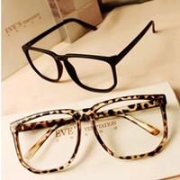 2014 Fashion Vintage Small Plain Cute Girl Handsome boy Eyeglasses Frame Women Glasses Optical Men Black y26