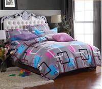 Promotion !!!Free Shipping bedclothes bedding bed linen 3/4pcs Bedding Set duvet cover set bed set