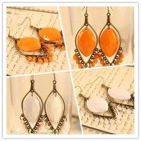 Minimum Order $20 (mixed order)   fashion jewelry Vintage Bohemian Chandelier Earrings