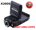 "2.0"" Rotable LCD HD720P Carcam K2000 HD Car Camera H.264 With Anti-Shake Function Free Shipping IR Night Vision"