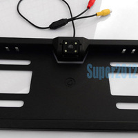 Night vision EU car license camera ,new style car number plate camera 1pcs/lot free shipping sale