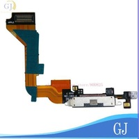 wholesale for iphone 4 accessories, Charger Dock Connector Flex Cable for iphone 4G,Black  10 pcs/lot, Free Shipping