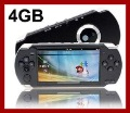 4.3 Inch PMP Handheld Game Player With 4GB MP3 MP5 Video FM Camera TV OUT Portable Game Console Multimedia Player