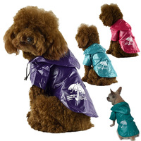 HOT SELLING  Umbrella Printed Dog Raincoat,pet apparel clothes(FD105)