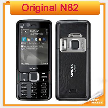 Original N82 Unlocked GSM Mobile Phone Dual Camera 5MP WIFI 3G GPS Phone