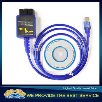 2014 Highly Recommend Vgate ELM327 USB OBD Scan USB Diagnostic Scanner Work With OBD2 Vehicle Vgate ELM 327 USB OBD2 Scan