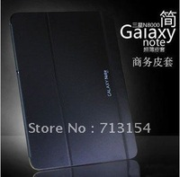 "New arrival Business Leather bags case cover For samsung galaxy note 10.1"" N8000,With Original Packing Free Shipping"