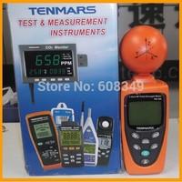 100% Made in Taiwan! TENMARS TM-195 3-Axis RF Field Strength Meter /EMF Meter