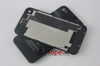 Top Quality Original Black White Glass Battery Cover Back Replacement Housing for iPhone 4S 4GS, DHL Free shipping 200pcs