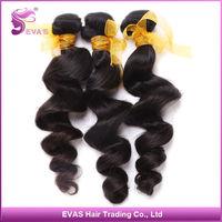 HOT sale ! EVAS Hair Malaysian virgin hair Loose wave 3pcs Unprocessed Human hair weave Malaysian loose wave Free shipping