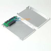 "5x 1.8"" micro SATA SSD to 2.5"" SATA Converter Adapter with case Enclosure"