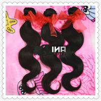 Lina Hair Products Malaysian Virgin Hair Body Wave 6A Cheap Human Hair Weaves Extensions 300g/lot Hair Weft Free Shipping