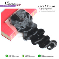 Free shipping lace top closure brazilian virgin hair,straight textures,swiss lace 4*3.5