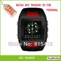 Free shipping,wrist watch personal gps trackers waterproof gps20