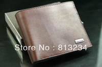 Free Dropshipping New Brand Fashion Designer Genuine Leather Wallets With Coin Pocket Men Promotion Handbags For Gift Z-80