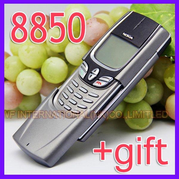 Anglais russe clavier original nokia 8850 silver téléphone mobile gsm déverrouillé 2g 900/1800 8850 ne peut pas utiliser dans usa