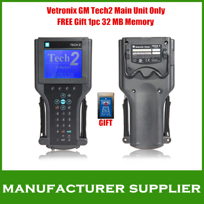 2014 Top-Rated DHL FREE GM tech2 diagnostic tool scanner Tech 2 main unit vetronix GM tech2 main unit only(FREE gift 1pc cards)(China (Mainland))