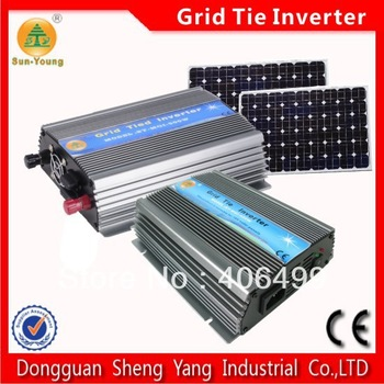 500W 230V solar power grid  tied inverter, New Micro Grid Tie Inverter for Solar MPPT Function DC 12V Pure Sine Wave Inverter