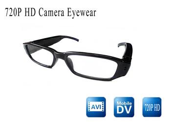 Free ship HD 720 video camera eyewear glasses mini dvr camera withglasses video/sunglasses camera