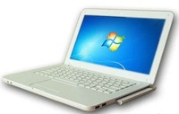 New Laptop wholesale L600 13inch 4GB 320GB with DVD ROM Dual core Intel D2500 notebook PC