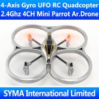 2.4G 4CH 4-Axis GYRO Quadcopter Quadricopter UFO Mini Parrot AR.Drone VS WL V929 V949 UDI U816A Remote Control RC Helicopter Toy