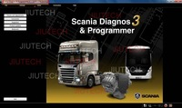 Scania SDP3 v2.2.0 Diagnosis & Programmer Diagnostic & Programmer software for Scania trucks