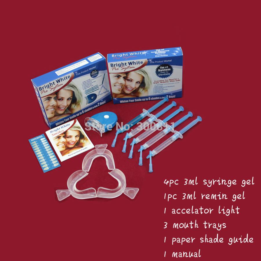 Teeth Whiteners Crest Teeth Whitening Home Kit 16 cp 1pc Mini Light Good Whiten Effect as Crest