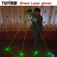 Green Laser Gloves With 4pcs 532nm 80mW Laser  ,Stage Gloves For DJ Club/Party Show