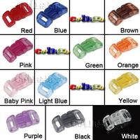 1, 000set пакет шнур блокировки бабочка переключения мягкие пластиковые прозрачные & черный стопора для шнура / #fls055-b