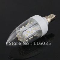 Free Shipping 1.5W E14 Bright Warm White 220V 180-240V 30-LED Energy Saving LED Diode Light Bulb Lamp China with130 LM