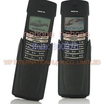 Refurbished 8910 100% Original NOKIA 8910 Mobile Phone Titanium housing 2G GSM 900/1800 Unlocked & Gift & One year warranty