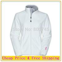 Free Shipping 2014 Fashion Brand Women Denali Pink Ribbon Osito Jacket White Lady Slim Winter Coats S-XXL