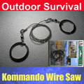 Pocket Stainless Steel Wire Saw Outdoor Camping Hunting Emergency Survival Tool
