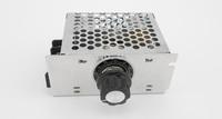 Free shipping,New 4000W 220v Adjust SCR Voltage Regulator Motor Speed control Dimmer Thermostat