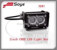 NEW! 2inch Adjustable cree led light bar 2W-20W led offroad lighting bar