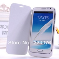 3600mAh rechargeable external battery charger shell Samsung GALAXY Note 2 N7100 Belt holster