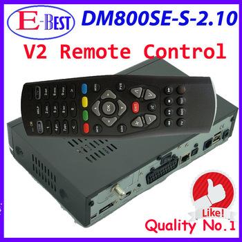 with V2 Remote Control DM800se hd satellite tv receiver DM 800se dm 800 hd se BCM4505 Tuner sim2.10 fedex Free Shipping
