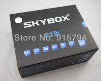 2 pieces Skybox F3S with VFD Display 396MHz MIPS Processor HD Dual-Core CPU Fedex Free Shipping