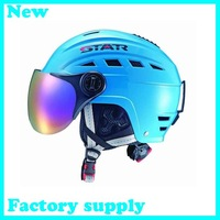 2012 hot sale ABS five color factory supply adult ice hockey helmet ski helmet snowboard protection skateboarding skiing helmets