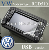 VW Volkswagen Car Radio RCD510 USB Version CD Player with CODE New Unused Original Radio For Golf Tiguan Jetta Passat B7 Golf