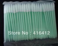 ( Pack of 500 ) Short Handle Cleanroom Foam tipped Cleaning Swab - Alternative to TX751B Small Compressed CleanFoam Swab
