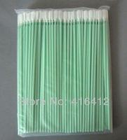 Free Shipping - 500 pcs Anti-static Cleanroom Polyester Swabs Alternative to ITW Texwipe TX761 Alpha Swab Dacron Swabs