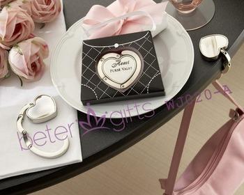 Free shipping 200pcs Purse Valet Stainless-Steel Handbag Holder wedding decoration wholesale WJ020/A