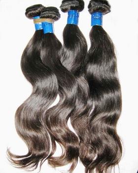 "Mixed lot Malaysian virgin hair natural body wave(20"",22"",24"")/3pcs Free Tangles 7A,natural ombre luster, DHL free shipping"