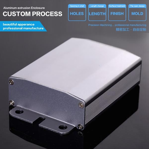 64*25.5*80mm SATA HDD/SSD Aluminum Exteranl HDD Case / High Quality Customized Aluminum Enclosure