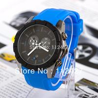Fashion 2013 New Men Sports Watch men mechanical hand wind watches men dress watch silicon strap watch wristwatches--EMS13112307